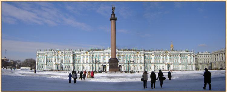 Зимний дворец.Санкт-Петербург
