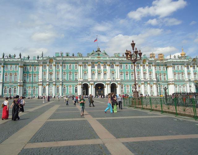 Зимний дворец.Дворцовая площадь.