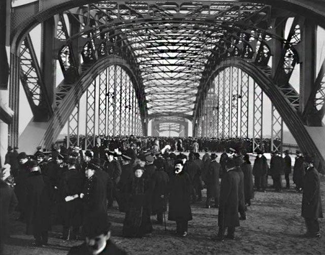 Открытие моста петра великого 1911г