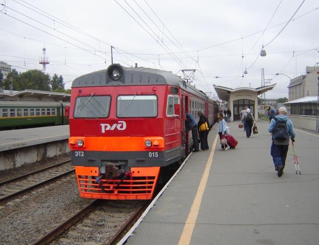 расписание электричек на балтийском вокзале в спб: