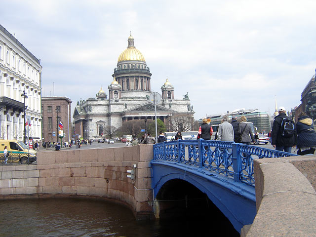 Синий мост мосты санкт петербурга