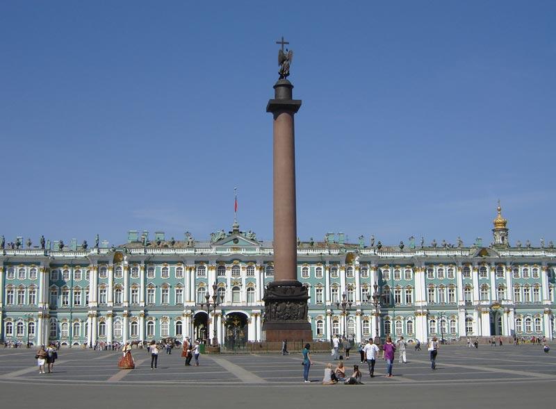 фото дворцовая площадь питер