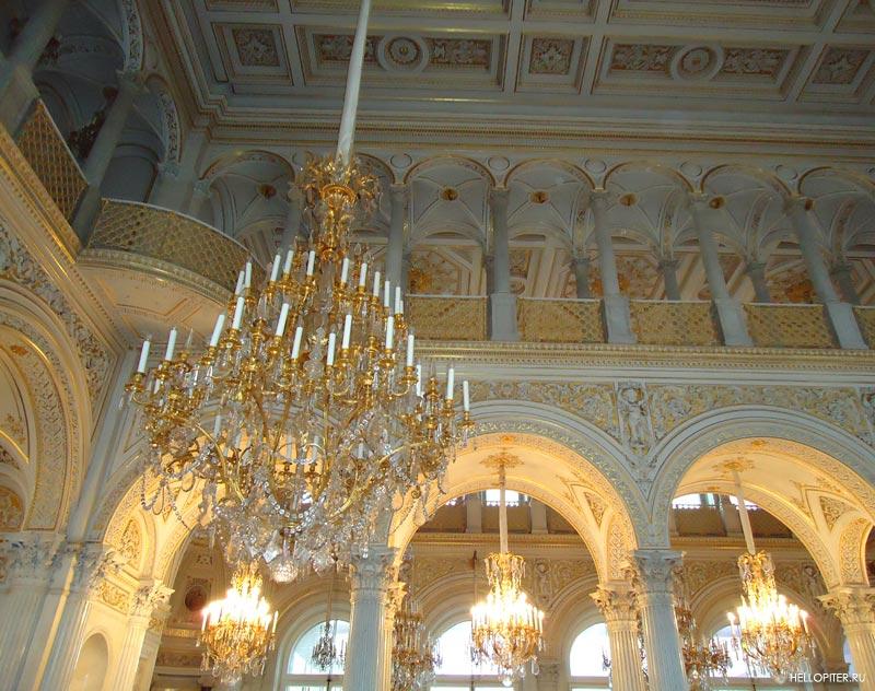 Павильонный зал.Малый Эрмитаж.Фото.