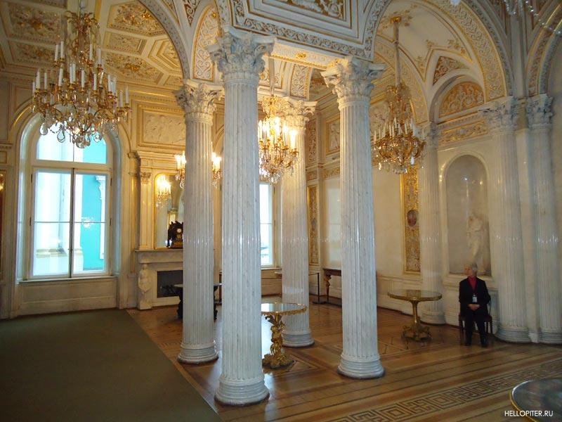 Малый Эрмитаж.Павильонный зал.Архитектор Штакеншнейдер А.И. 1850-е гг.