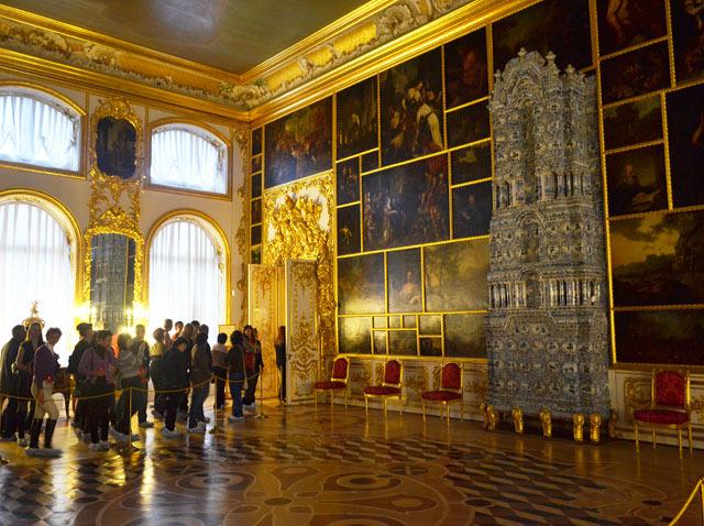 Екатерининский дворец картинный зал