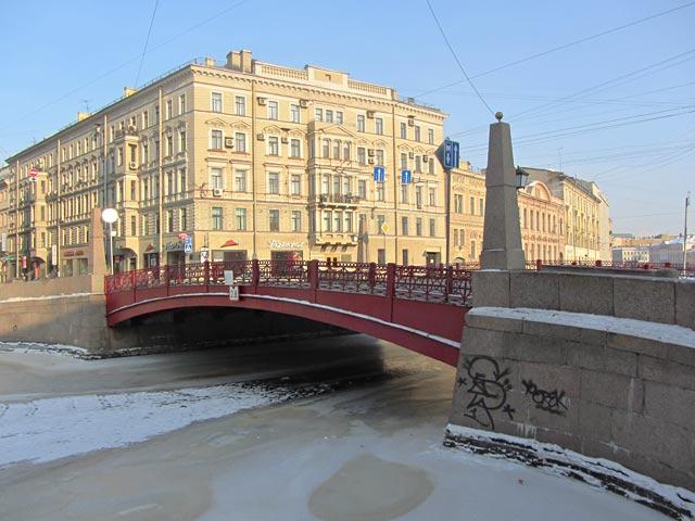 Красный мост санкт петербург