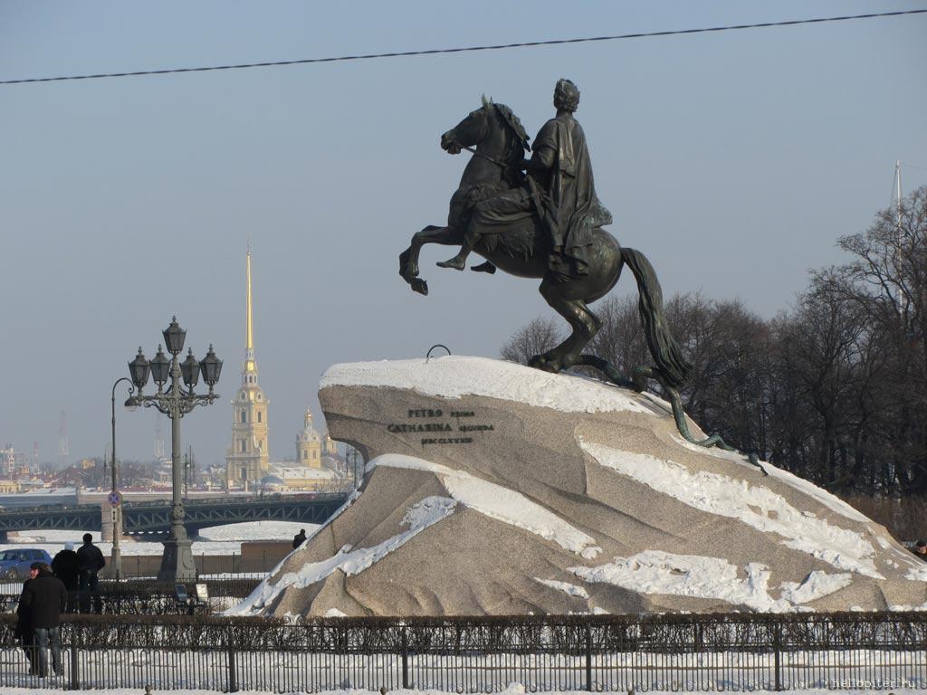 Сенатская площадь.Санкт-Петербург.: www.hellopiter.ru/Win_photo7.html