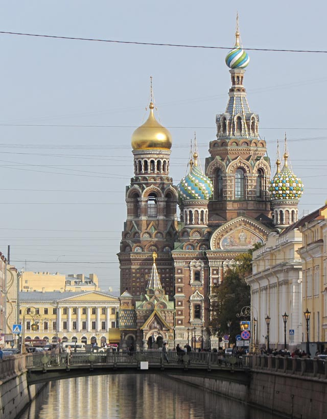 Church of  the Savior on Blood  in St.Petersburg