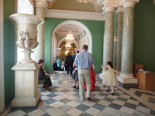 Аничков дворец.Парадная лестница.
