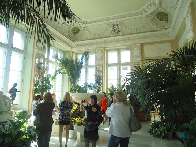 Аничков дворец.Зимний сад.