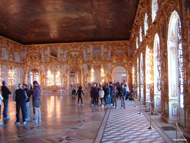 Екатерининский дворец парадный наряд