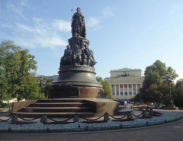 Заказать памятник спб екатерине гранитная мастерская в москве гравюра