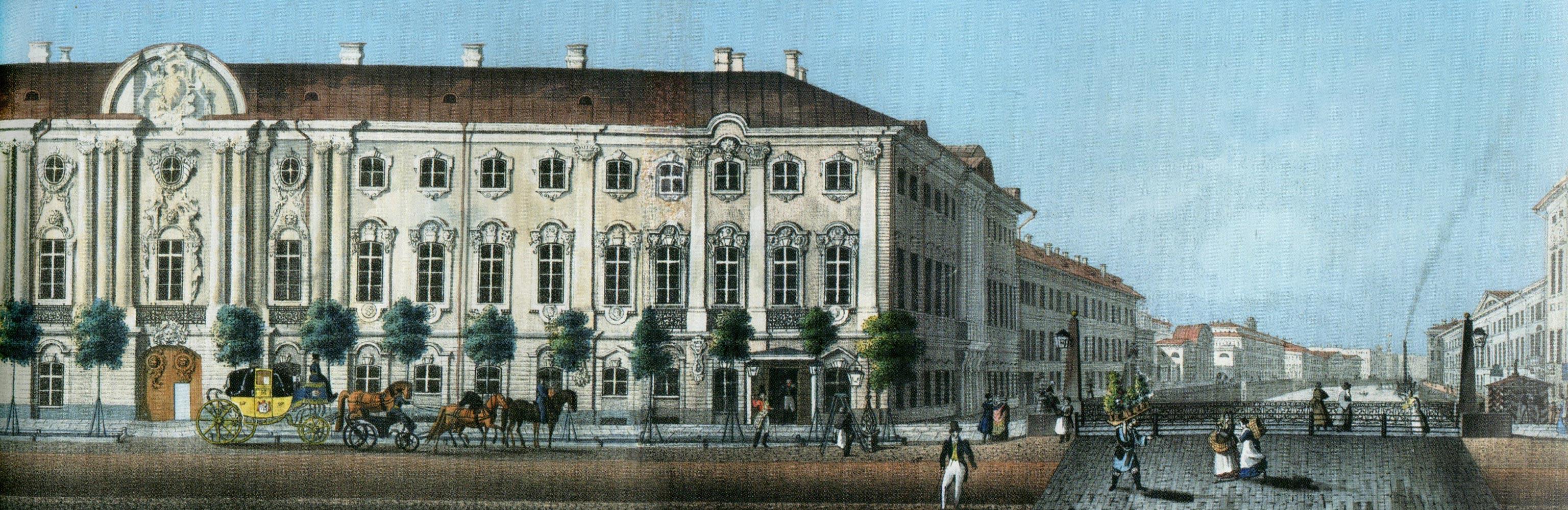 дворец рисунок: