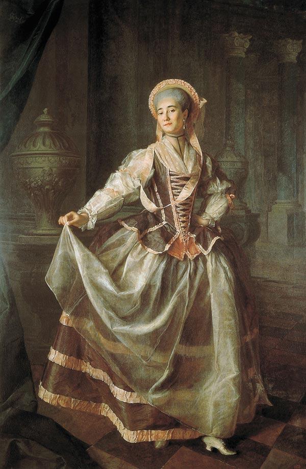 Портрет а п левшиной 1775 г
