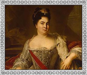 Портрет Екатерины I. Жан Марк Наттье. 1717 г. ГЭ